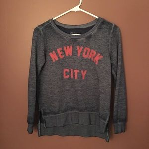 Zoe + Liv Crewneck New York City sweatshirt